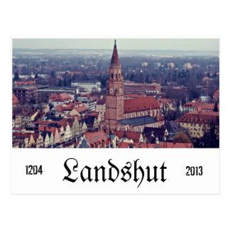 Landshut Postcard