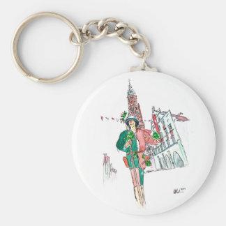 Landshut  Wedding 1475 City Guard Keychain