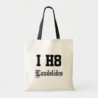 landslides canvas bags