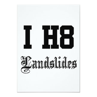 landslides card