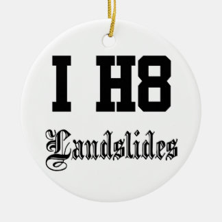 landslides ornaments
