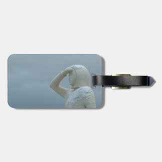 Landsýn - Land in Sight Sculpture Iceland Bag Tag
