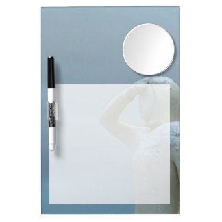 Landsýn - Land in Sight Sculpture Iceland Dry Erase Board With Mirror