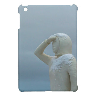 Landsýn - Land in Sight Sculpture Iceland Cover For The iPad Mini