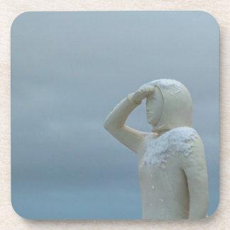 Landsýn - tierra en la escultura Islandia de la Posavaso