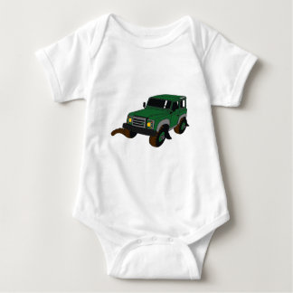 Landy verde body para bebé
