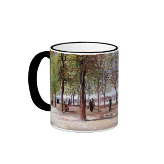 Lane at the Jardin du Luxembourg, Vincent van Gogh Coffee Mugs