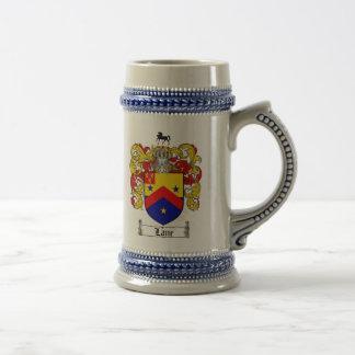 Lane Coat of Arms Stein / Lane Family Crest Stein Coffee Mugs