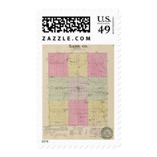 Lane County, Kansas Postage