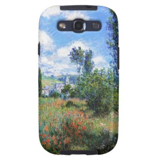 Lane in Poppy Fields Saint-Martin Claude Monet Samsung Galaxy S3 Cover