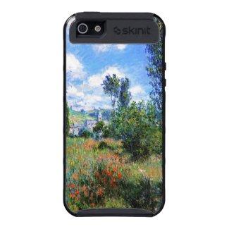 Lane in Poppy Fields Saint-Martin Claude Monet Cases For iPhone 5