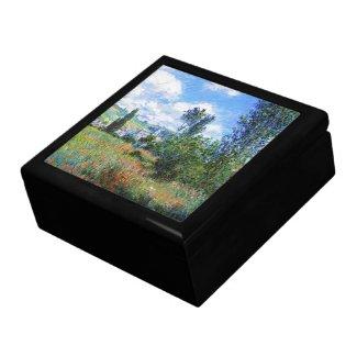 Lane in Poppy Fields Saint-Martin Claude Monet Gift Boxes
