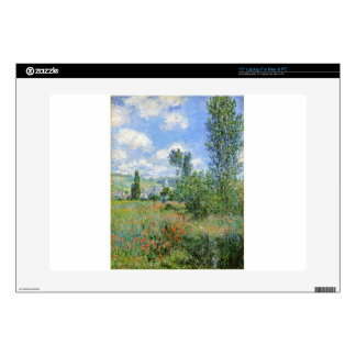 Lane in the Poppy Fields - Claude Monet Laptop Decal