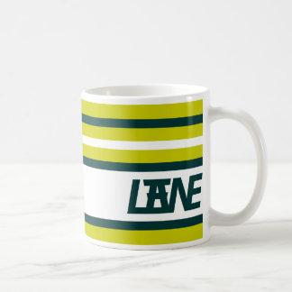 LANE (RG, GB) COFFEE MUG