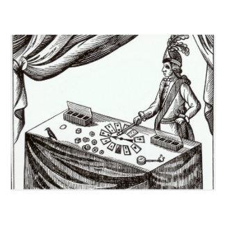 Lane, the Conjurer Postcard