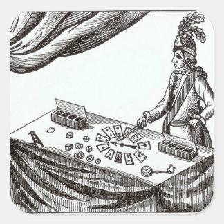 Lane, the Conjurer Square Sticker