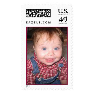 Lane, the Little Farmer Boy Stamp