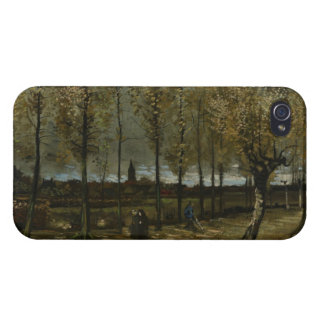 Lane with Poplars by Van Gogh iPhone 4/4S Cases