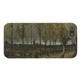 Lane with Poplars by Van Gogh iPhone 5 Cases