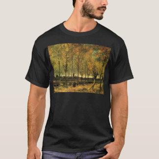 Lane with Poplars by Vincent van Gogh T-Shirt