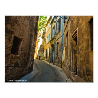 Lanes of Provence Photo Print