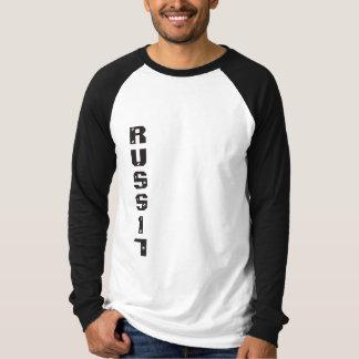 Lang arma russe t-skjorte tee shirt