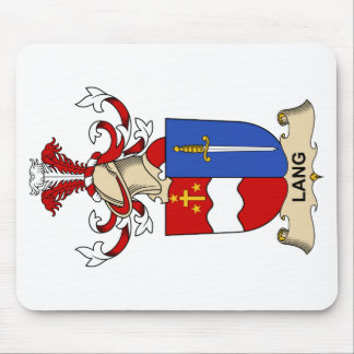 Lang Family Crest Mouse Pad