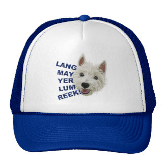 Lang May Yer Lum Reek! Trucker Hat
