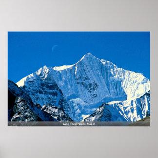 Lang Tang Himal, Nepal Posters