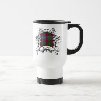 Lang Tartan Shield Travel Mug