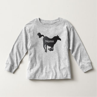 Långärmad sweater with horse&names