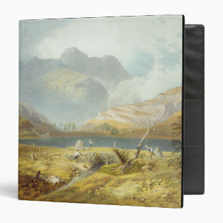 Langdale Pikes, from 'The English Lake District', Binder