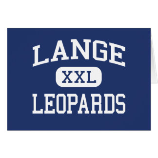 Lange Leopards Middle Columbia Missouri Cards