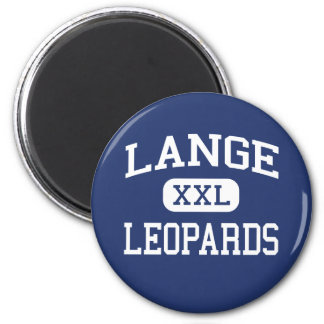Lange Leopards Middle Columbia Missouri Fridge Magnet