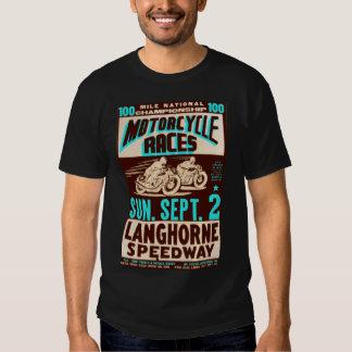 """""""Langhorne Motorcycles"""" by Flagman Tee Shirt"""