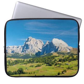 Langkofel Group in South Tyrol, Italy Laptop Sleeve