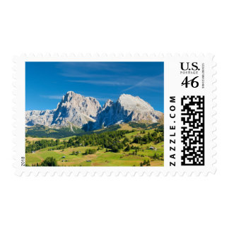 Langkofel Group in South Tyrol, Italy Postage Stamp