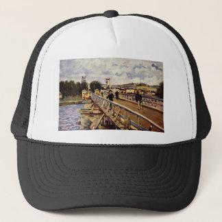Langland Bay by Alfred Sisley Trucker Hat