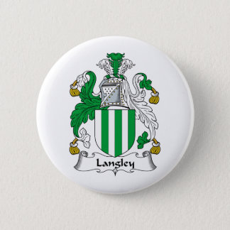 Langley Family Crest Button