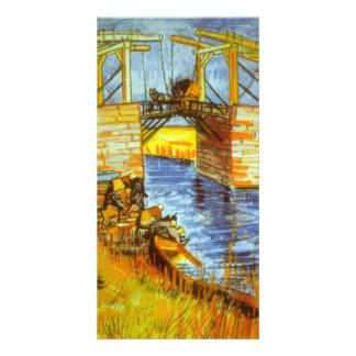 Langlois by Vincent van Gogh Card