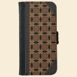 Langonstyne 6/6s Old Book Style Wallet Phone Case For iPhone 6/6s