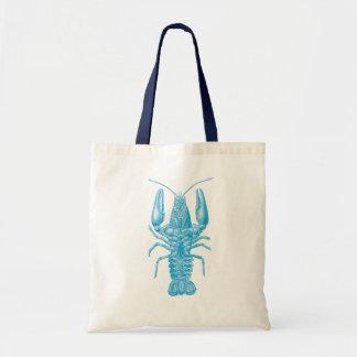 Langosta azul bolsa tela barata