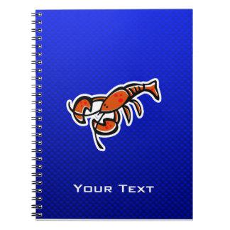 Langosta; Azul Cuadernos