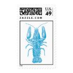 Langosta azul sello