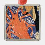 Langosta de Kuniyoshi Ornamentos De Reyes