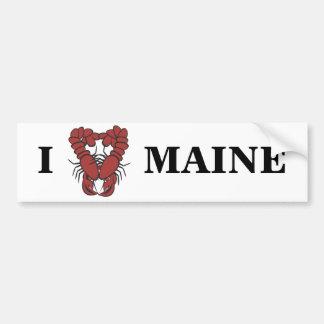 Langosta de la diversión de Maine del amor del KRW Pegatina Para Auto