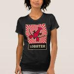 Langosta del arte pop camisetas