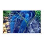 langosta del azul del colorfull tarjetas de visita