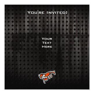 """Langosta del Grunge Invitación 5.25"""" X 5.25"""""""