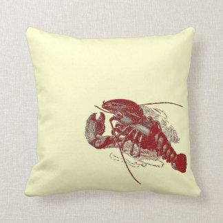 Langosta del vintage almohadas